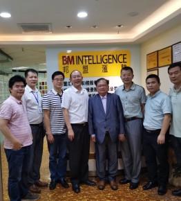 香港中小企业工商联合会到访